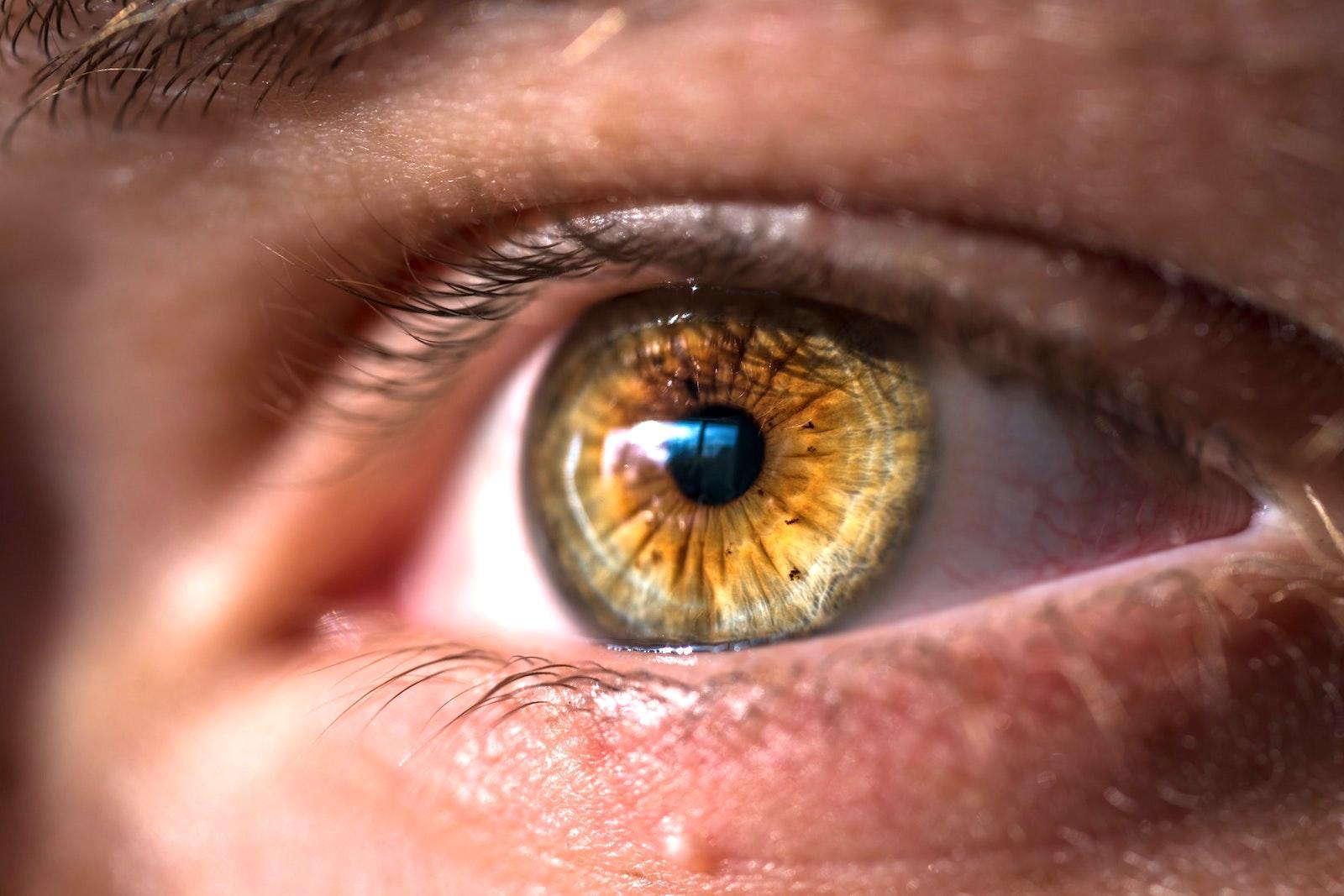 scăderea acuității vizuale în ochi