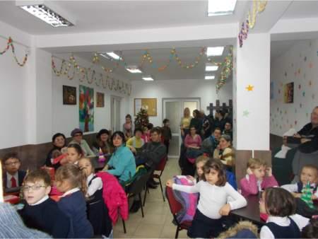 """Centrul de zi pentru persoane cu deficienţe de auz şi vorbire """" Sfântul Prooroc Zaharia"""""""