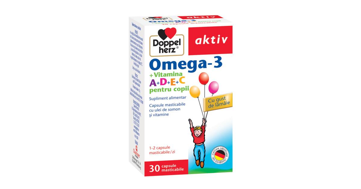 Doppelherz Vizual Total omega-3 + luteina caps. N30