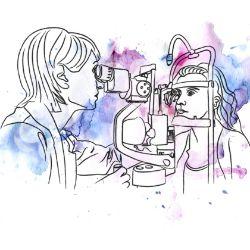 dependența acuității vizuale de dioptrii