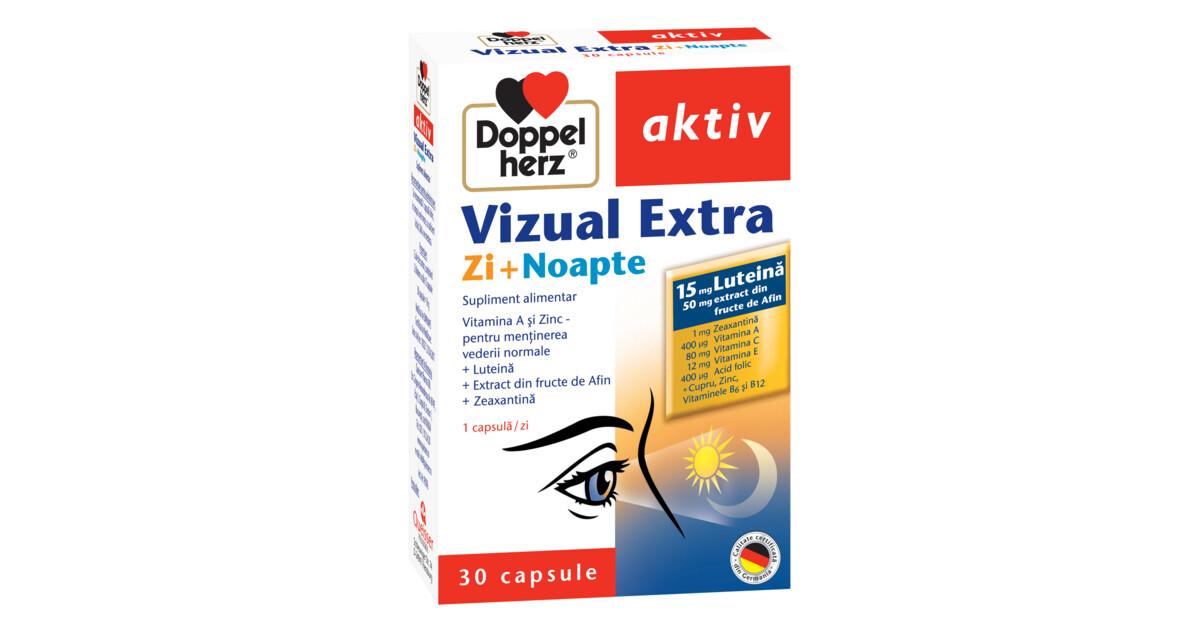 Doppelherz aktiv Vizual Extra Zi + Noapte - Sanatate La Tine 7-pitici.ro