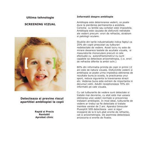 acuitatea vizuală și vârsta