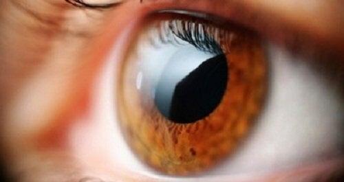 vederea unui ochi a scăzut brusc