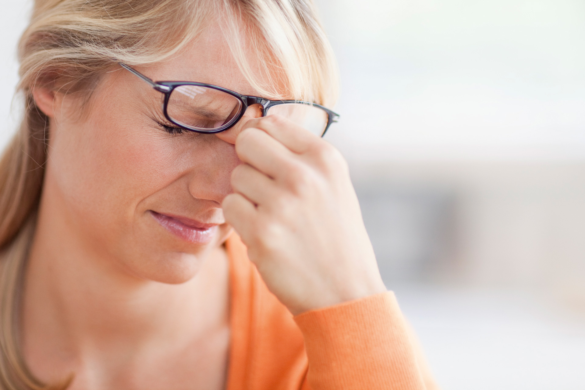 Vedere slabă și amețeli