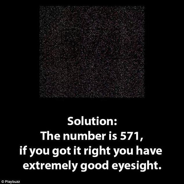 test de vedere ce numar vezi