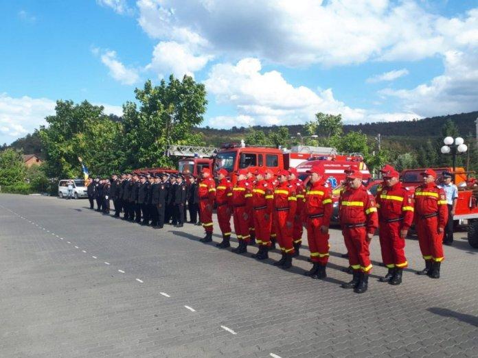 ISUDB - Detasamentul de pompieri Gaesti.