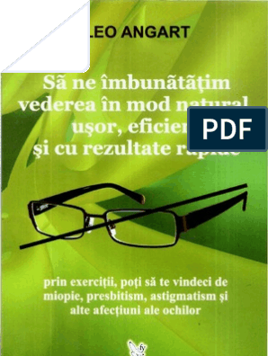 cum să vindeci vederea cu un laser