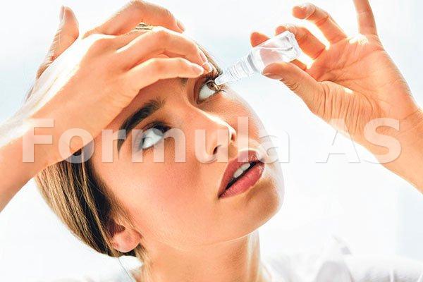 legat la ochi pentru a îmbunătăți vederea