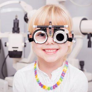 camera de protecție a vederii în policlinică