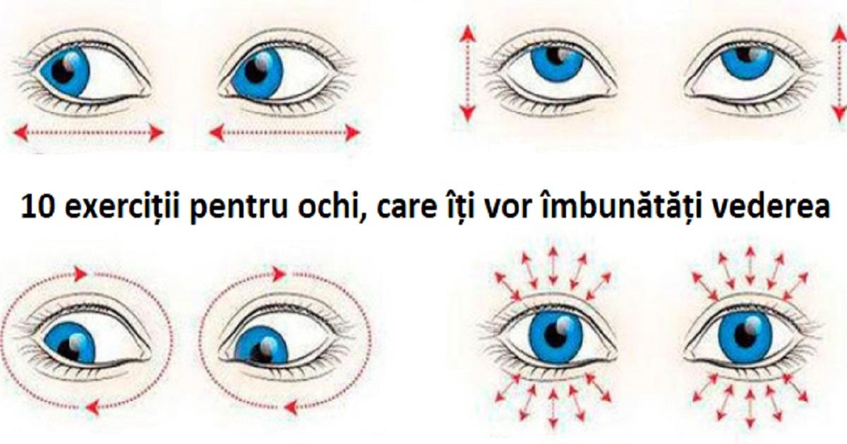 5 Exercitii care iti imbunatatesc vederea
