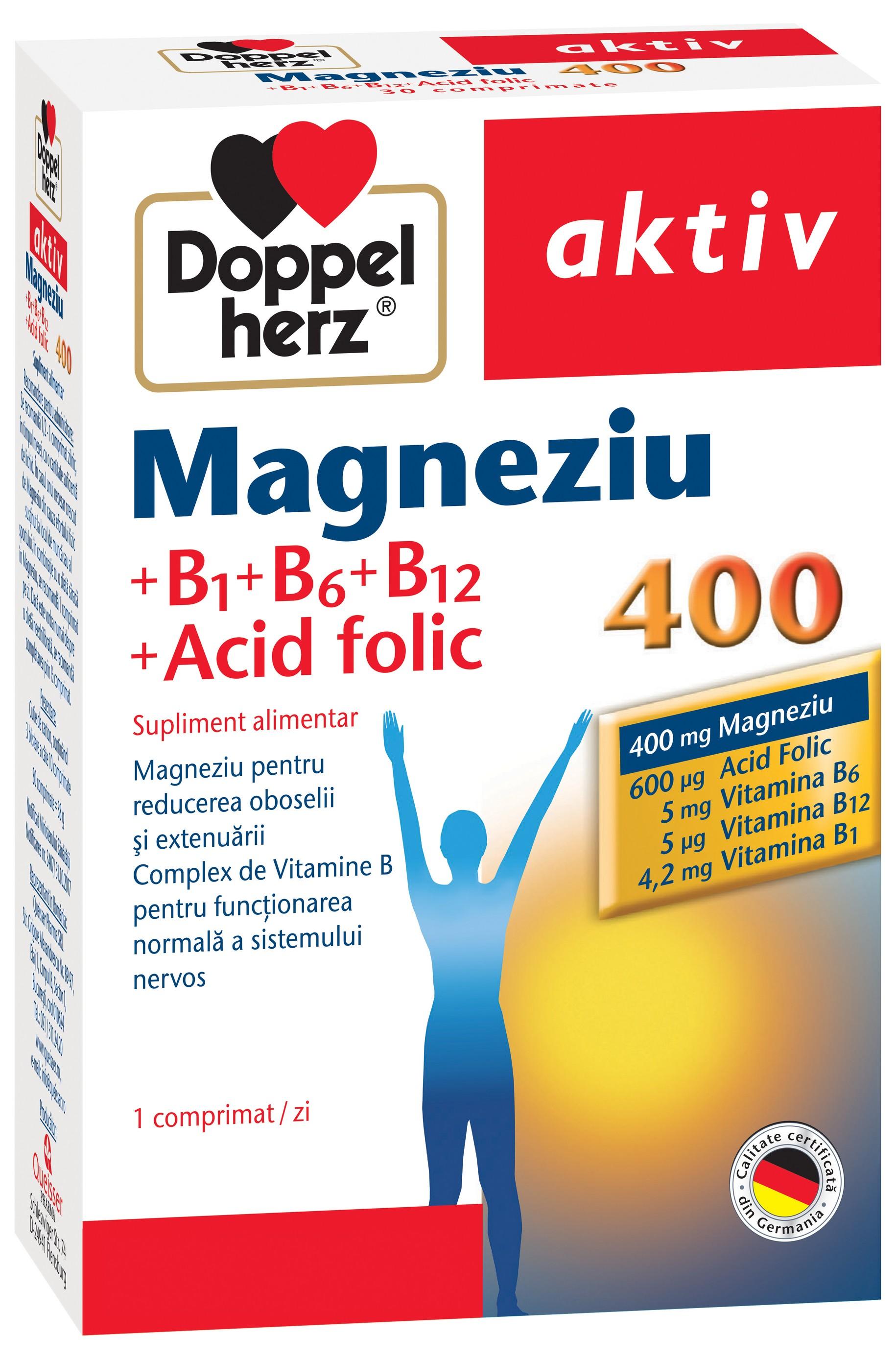 magneziu b6 și viziune