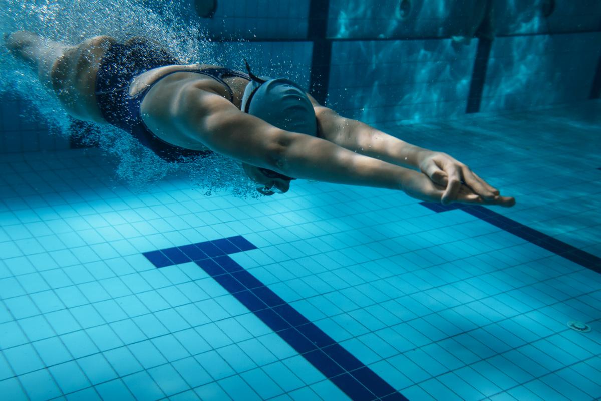 corecția vederii subacvatice înot