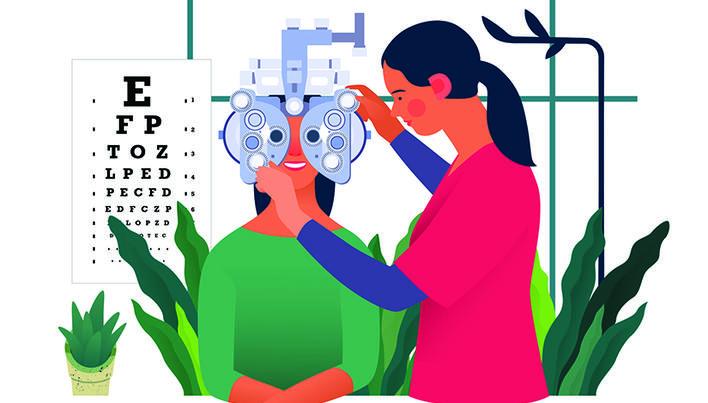 1.1 acuitate vizuală