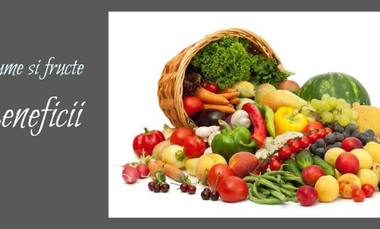 pentru legume și fructe vizuale