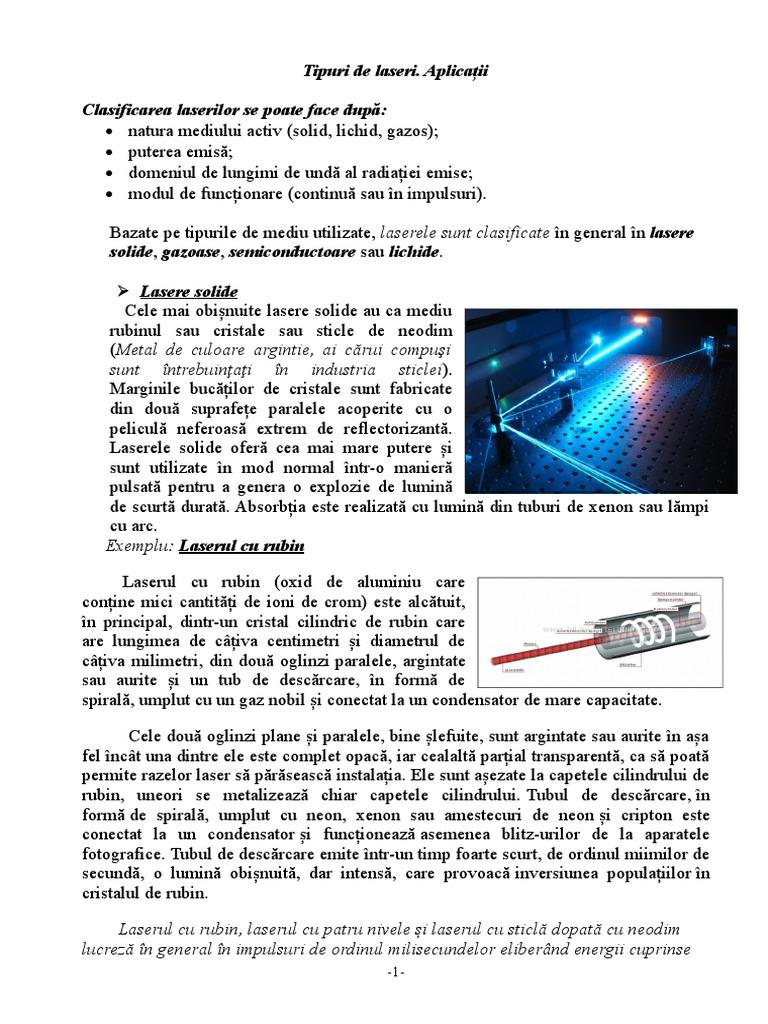 Indicatoarele cu laser şi riscurile asupra vederii – Despre ochi