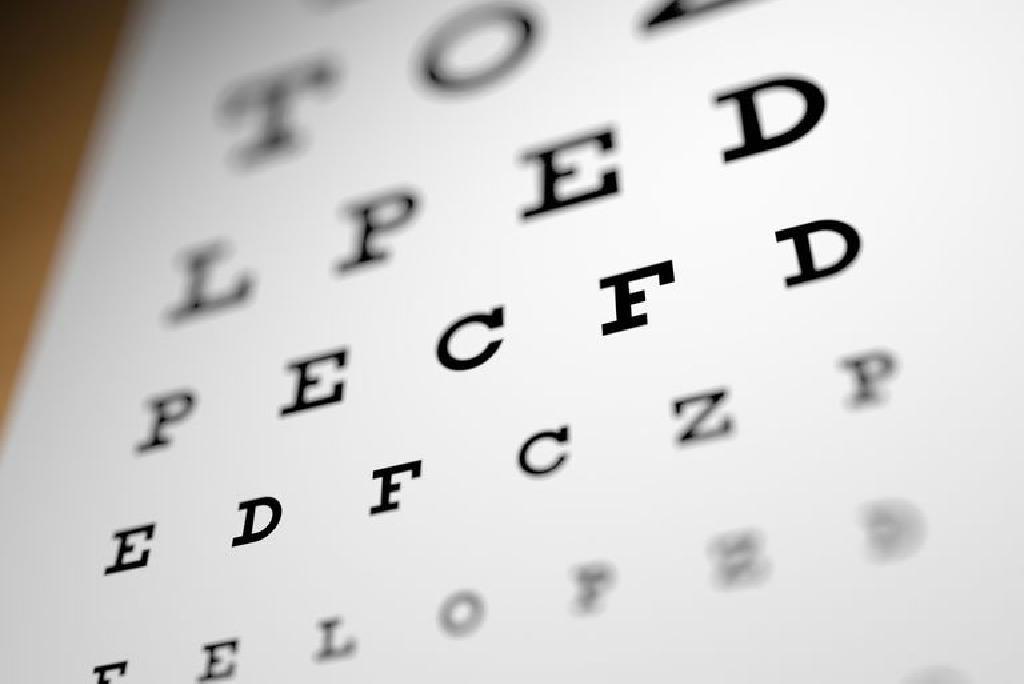 pierderea acuității vizuale