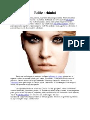 cefalee și vedere neclară