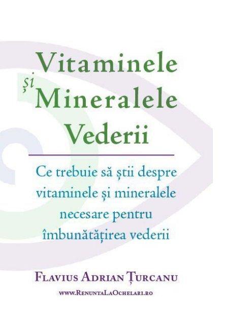 terapia cu vitamine a vederii