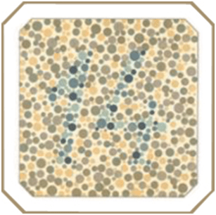 masă de testare a orbirii culorilor îmbunătățiți vederea slabă