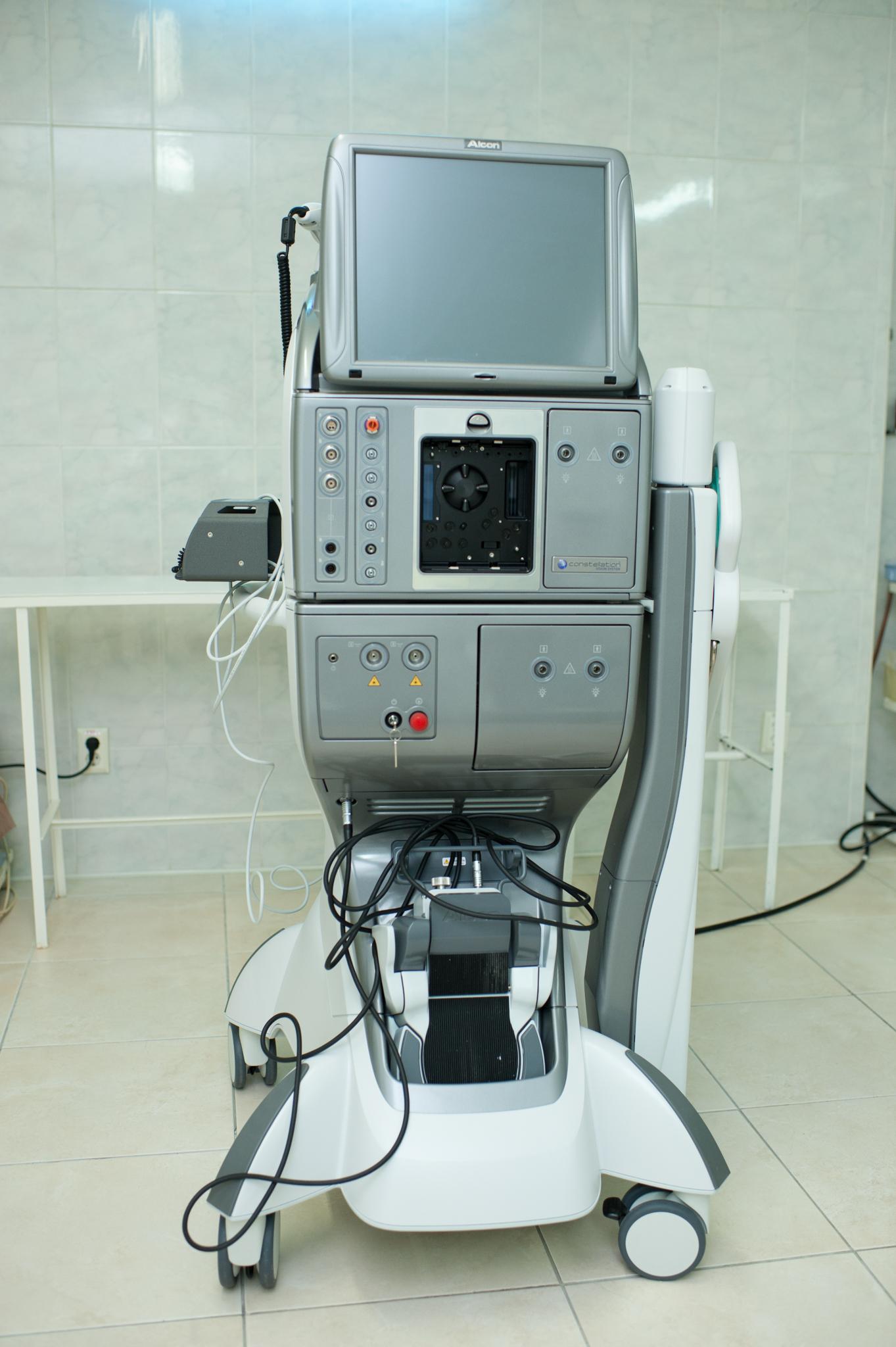 echipamente pentru oftalmolog