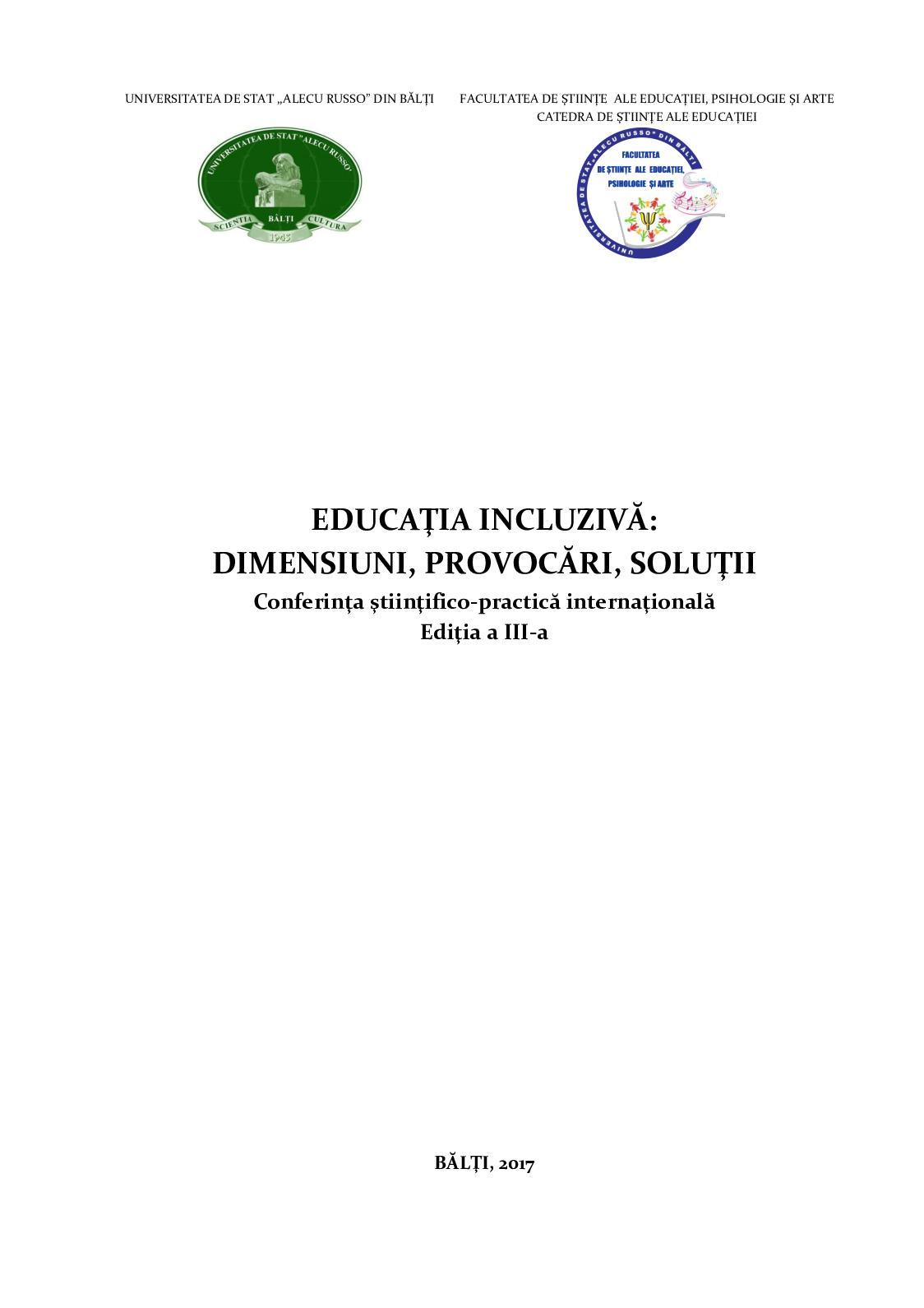 Educație pentru persoanele cu deficiențe de vedere