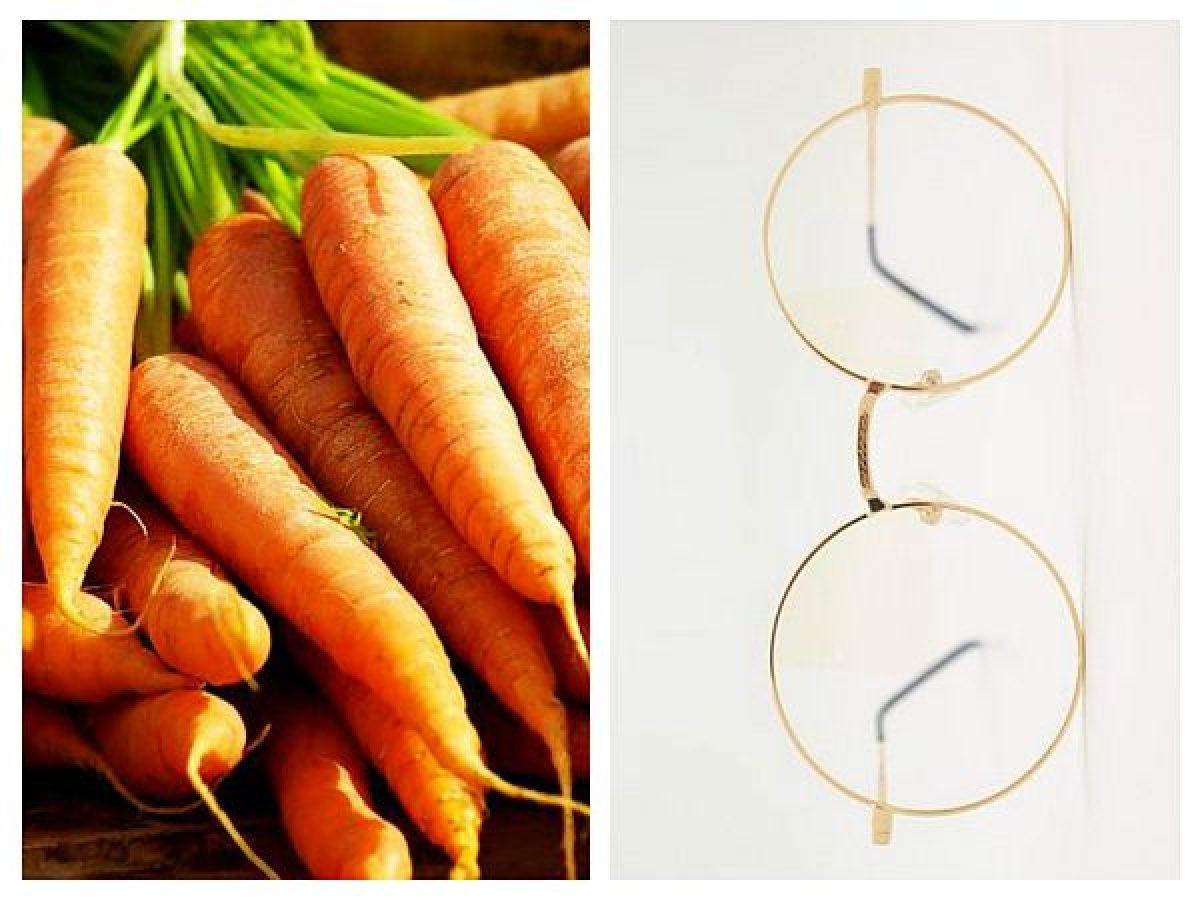 Oare consumul de morcovi îmbunătăţeşte vederea?