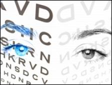 nervii afectează vederea comic test de masă pentru ochi
