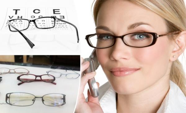 selectarea opticii pentru vedere saună și viziune