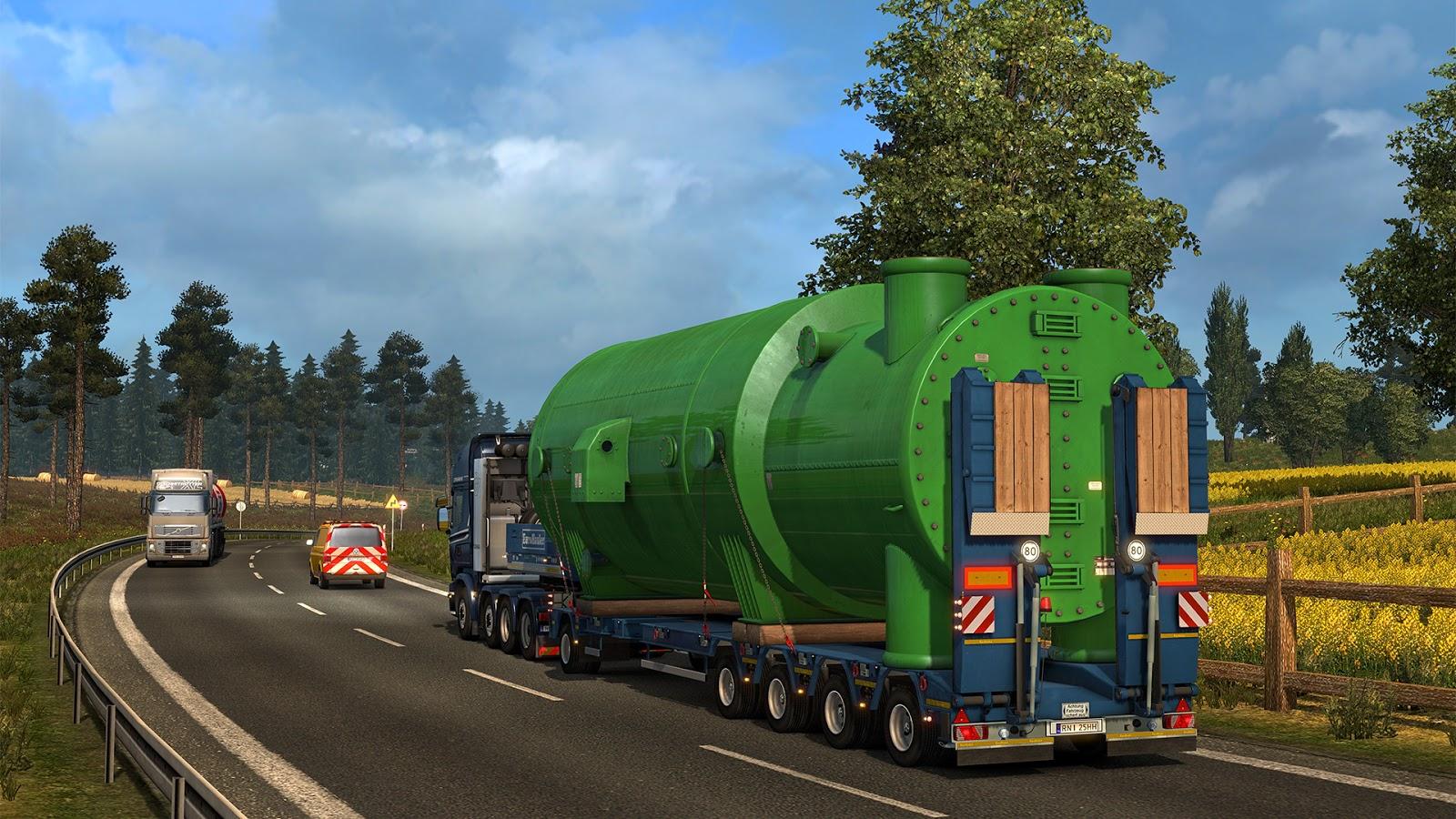 Cum arată România, în viziunea producătorilor jocului Euro Truck Simulator 2 - Go4Games