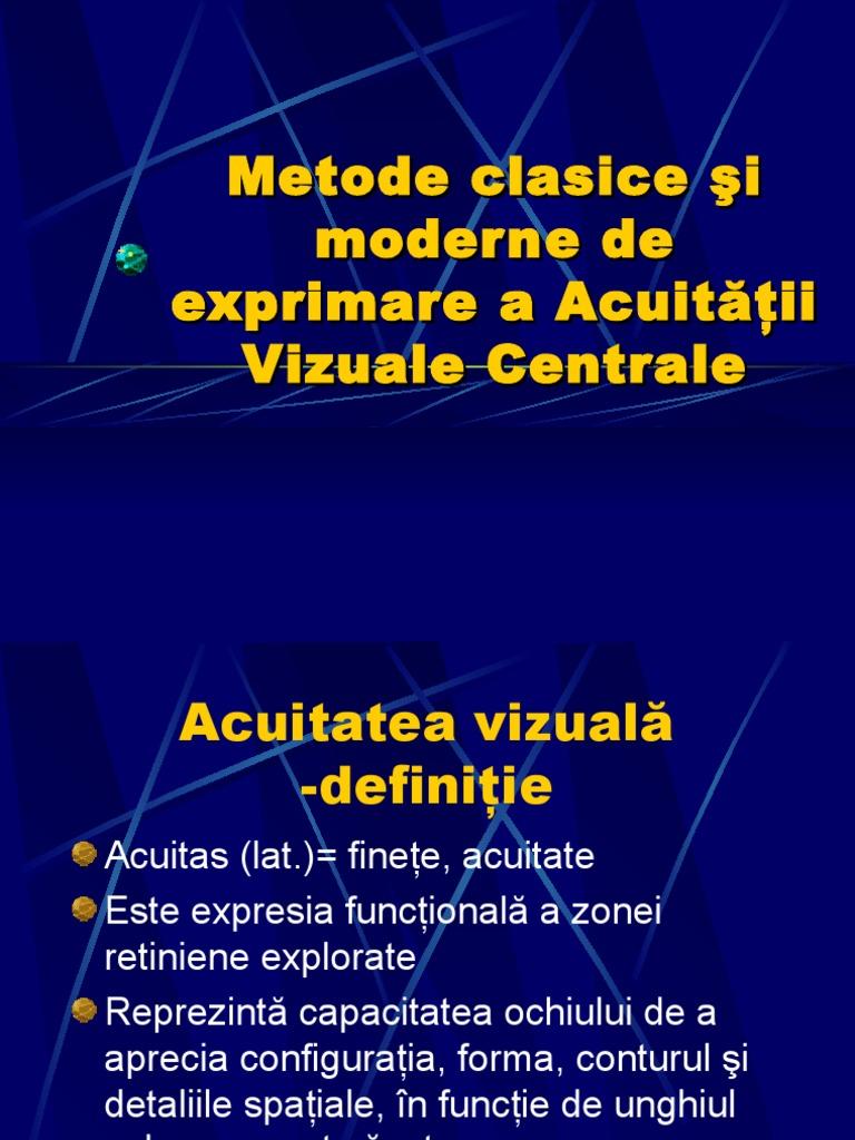 cărți despre acuitatea vizuală