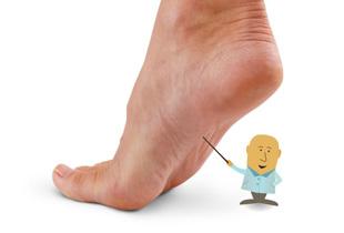 Tendinita la picior (fasceita plantara)