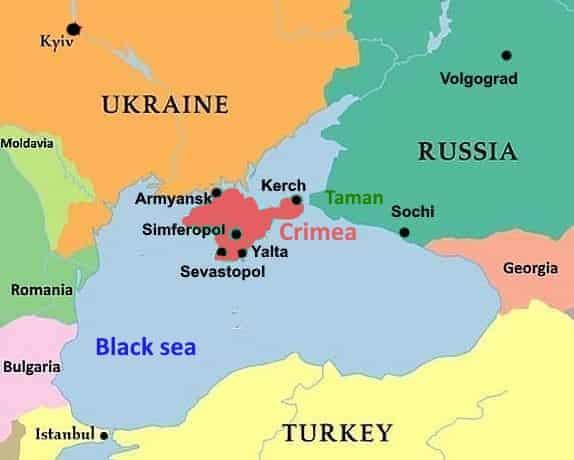 despre viziune în Kerch)