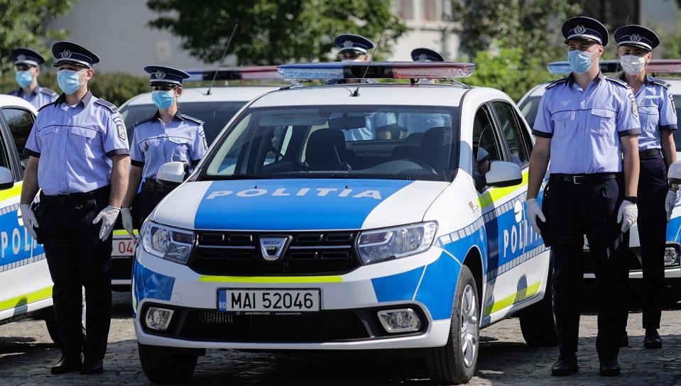 la poliție cu vedere slabă