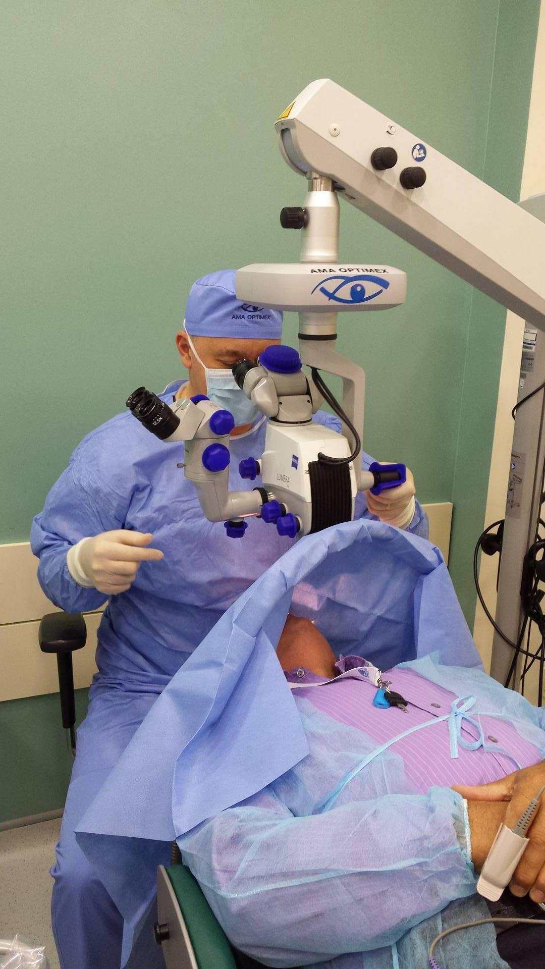 refacerea vederii cu laserul după operație vedere pierdută, ochii răniți