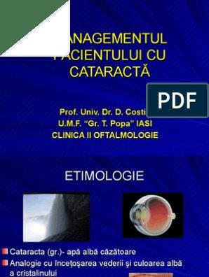 studii de radiații în oftalmologie