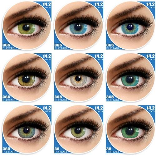lentile de vedere colorate viziune difuză